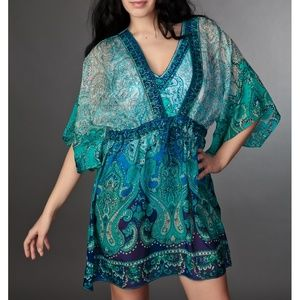 Gottex 100% silk cover up